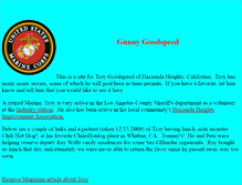 Tablet Preview of gunnygoodspeed.us